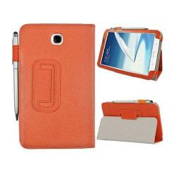 Business (Orange) Samsung Galaxy Tab 3 7.0 Läderfodral