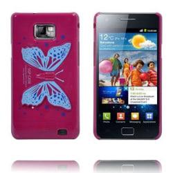 Butterfly Wings - Vikbart Stativ (Het Rosa) Samsung Galaxy S