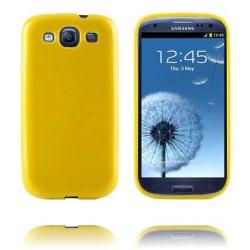 Candy Colors (Gul) Samsung Galaxy S3 Silikonskal