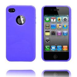 Candy Colors - Logo Cut (Lila) iPhone 4S Silikonskal