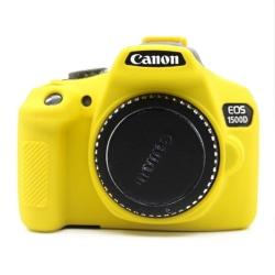 Canon EOS 1300D 1500D kameraskydd silikon - Gul