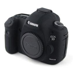 Canon EOS 5D Mark III Snyggt silikon skydd - Svart