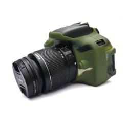 Canon EOS 600D/650D/700D Mjukt silikon skydd - Grön
