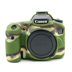 Canon EOS 7D Skydd i silikon - Camo