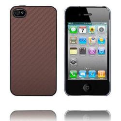 Carbon Clear Edge (Brun) iPhone 4 & 4S Skal