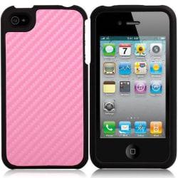 Carbonite - ClickOn (Ljusrosa) iPhone 4/4S Skal