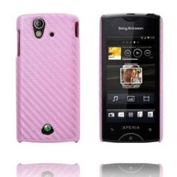 Carbonite (Ljusrosa) Sony Ericsson Xperia Ray Skal