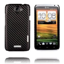 Carbonite (Svart) HTC One X Skal
