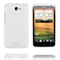 Carbonite (Vit) HTC One X Skal