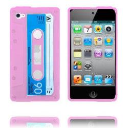 Cassette Skal (Rosa) iPod Touch 4 Silikonskal