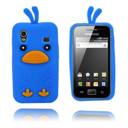 Chicken (Blå) Samsung Galaxy Ace Skal
