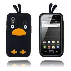 Chicken (Svart) Samsung Galaxy Ace Skal