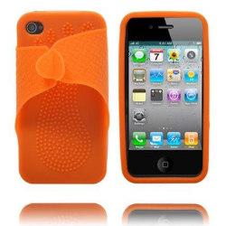 Color Slipper (Orange) iPhone 4 Skal