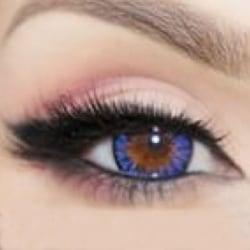 COLORS färgade 1-års linser - #32 Dew Blue