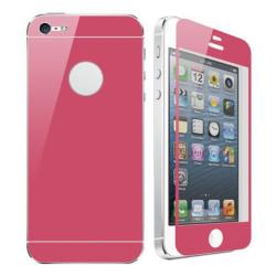 ColorSkin iPhone 5 / 5S Dubbelsidig Skyddsfilm (Röd)