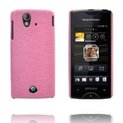 Croco (Rosa) Sony Ericsson Xperia Ray Skal