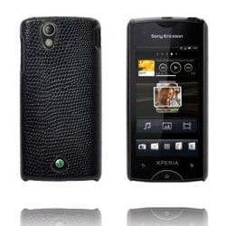 Croco (Svart) Sony Ericsson Xperia Ray Skal