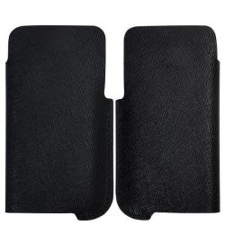 CrossLine Samsung Galaxy S2 Läderpåse (Svart)