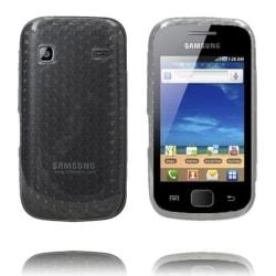 Cubes (Svart) Samsung Galaxy Gio Skal