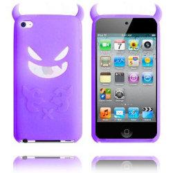 Demon (Lila) iPod Touch 4 Silikonskal