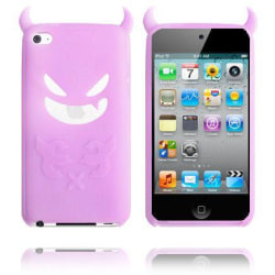 Demon (Ljusrosa) iPod Touch 4 Silikonskal