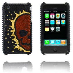Diamond Skull (Koppar) iPhone 3GS Skal