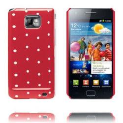 Dots & Colors (Röd) Samsung Galaxy S2 Skal