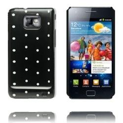Dots & Colors (Svart) Samsung Galaxy S2 Skal