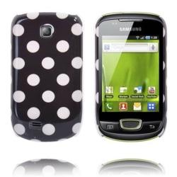 Dots (Svart) Samsung Galaxy Mini Skal