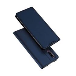 DUX DUCIS Huawei P30 läderfodral - Mörkblå