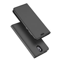 DUX DUCIS Nokia 3.1 mobilfodral syntetläder silikon stående