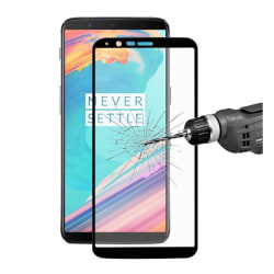 ENKAY OnePlus 5T Extra glas med unik ram - Vit