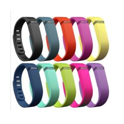 Ersättnings Klockarmband för Fitbit Flex - 10 Pack Storl M-L