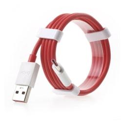 Färgad USB Type-C laddarkabel - Röd