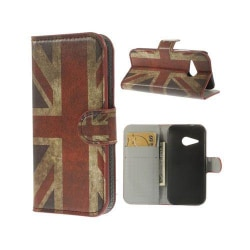 Festival (Union Jack) HTC One Mini 2 Flip-Fodral
