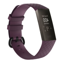 Fitbit Charge 3 silicone flexbible wath band - Size: L / Pur