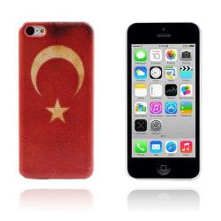 Flag (Turkiet) iPhone 5C Skal
