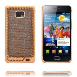 Foxtrot Guld (Grå) Samsung Galaxy S2 Skal