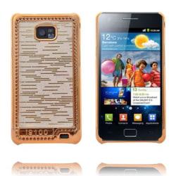Foxtrot Guld (Vit) Samsung Galaxy S2 Skal