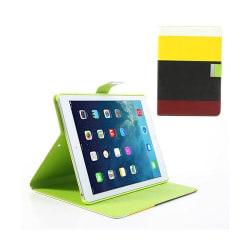 Freestyle (Gul/Svart/Röd) iPad Air Läderfodral