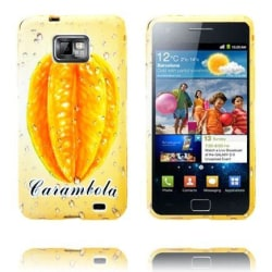 Fresh Fruit (Carambola) Samsung Galaxy S2 Skal