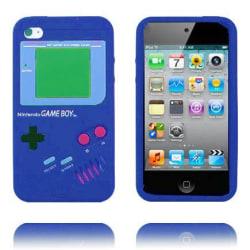 Game Boy (Blå) iPod Touch 4 Silikonskal