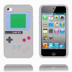 Game Boy (Grå) iPod Touch 4 Silikonskal