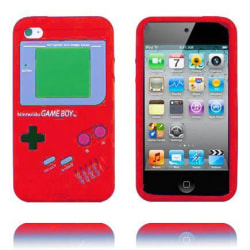 Game Boy (Röd) iPod Touch 4 Silikonskal