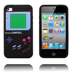 Game Boy (Svart) iPod Touch 4 Silikonskal