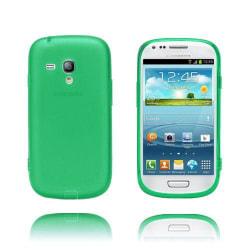 GelCase (Grön) Samsung Galaxy S3 Mini Skal