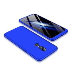 GKK OnePlus 6 mobilskal plast matt avtagbara delar - Blå