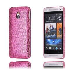 Glitter (Rosa) HTC One Mini Skal