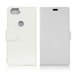 Google Pixel 2 Enfärgat fodral med plånbok - Vit
