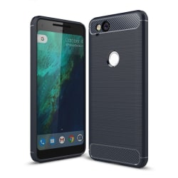 Google Pixel 2 Karbon fiber designat skal - Blå